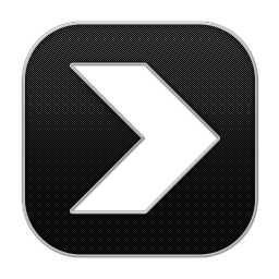 256x256px size png icon of Arrow Next