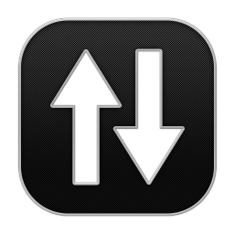 256x256px size png icon of Arrow Updown