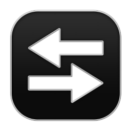 256x256px size png icon of Arrow