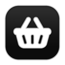 256x256px size png icon of Basket