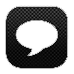256x256px size png icon of Chat 2