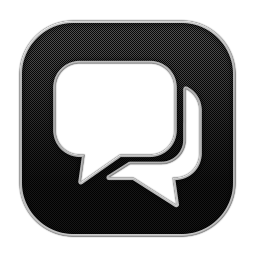256x256px size png icon of Chat 3