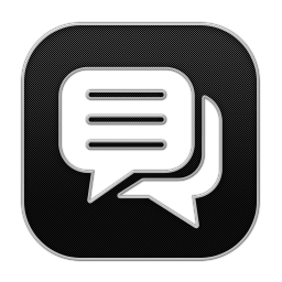 256x256px size png icon of Chat 4