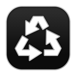 256x256px size png icon of Recycle