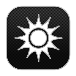 256x256px size png icon of Sun