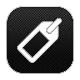 256x256px size png icon of Tag 2