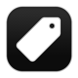 256x256px size png icon of Tag