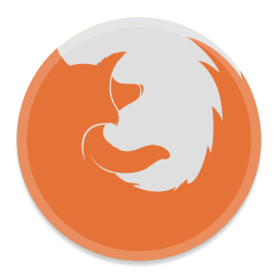 256x256px size png icon of FireFox 2