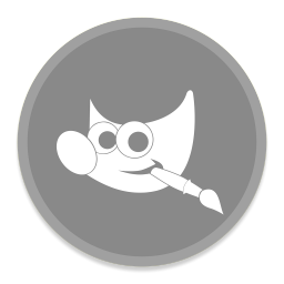 256x256px size png icon of Gimp 2
