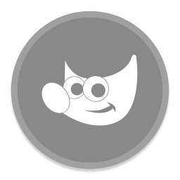 256x256px size png icon of Gimp