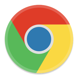 256x256px size png icon of Google Chrome