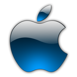 256x256px size png icon of Candy Apple Blue 2