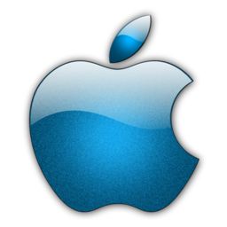 256x256px size png icon of Candy Apple Blue