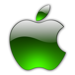256x256px size png icon of Candy Apple Green 2