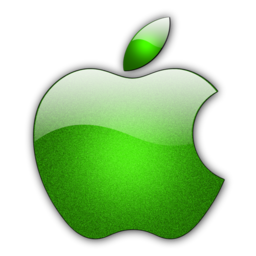 256x256px size png icon of Candy Apple Green