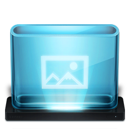 256x256px size png icon of Pictures