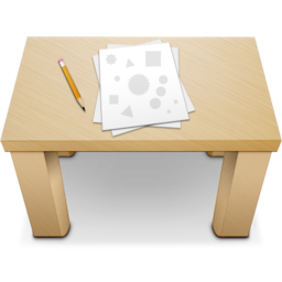 256x256px size png icon of Desk