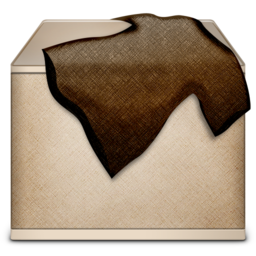 256x256px size png icon of TrashFull