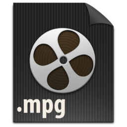 256x256px size png icon of zFileMPG