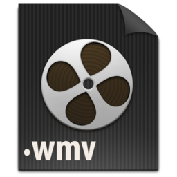 256x256px size png icon of zFileWMV