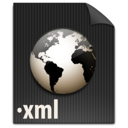 256x256px size png icon of zFileXML
