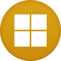 256x256px size png icon of Microsoft