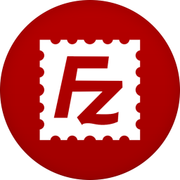 256x256px size png icon of filezilla
