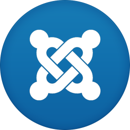 256x256px size png icon of joomla