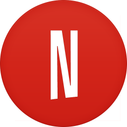 256x256px size png icon of netflix