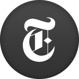 256x256px size png icon of new york times