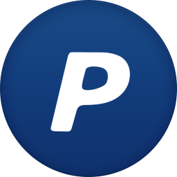 256x256px size png icon of paypal