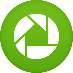 256x256px size png icon of picasa
