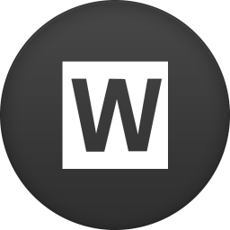 256x256px size png icon of wired