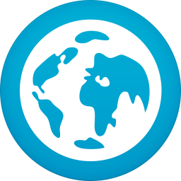 256x256px size png icon of browser