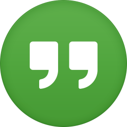 256x256px size png icon of google hangouts