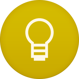 256x256px size png icon of google keep