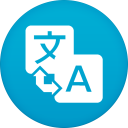 256x256px size png icon of google translate