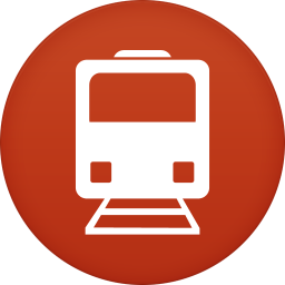 256x256px size png icon of public transport