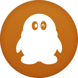 256x256px size png icon of qq