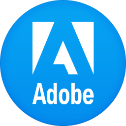 256x256px size png icon of adobe