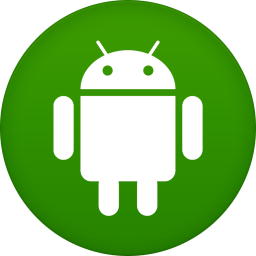 256x256px size png icon of android
