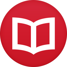 256x256px size png icon of books