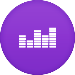 256x256px size png icon of deezer 2