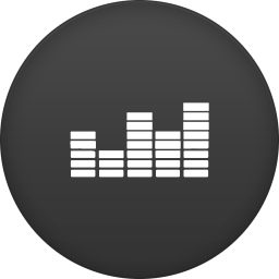 256x256px size png icon of deezer