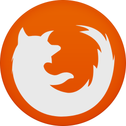 256x256px size png icon of firefox