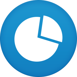 256x256px size png icon of graph