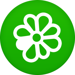 256x256px size png icon of icq