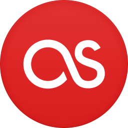 256x256px size png icon of last fm