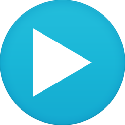 256x256px size png icon of mx player