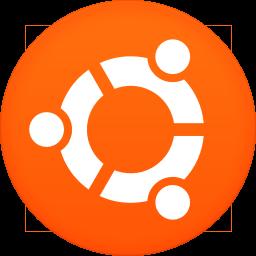 256x256px size png icon of ubuntu